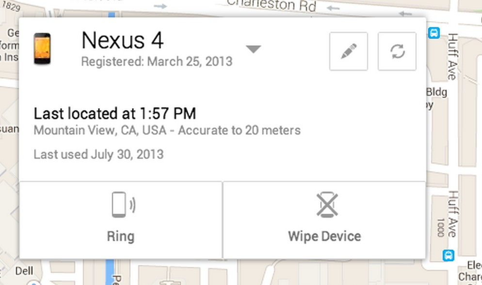 Android Device Manager للعثور على هاتفك اندرويد