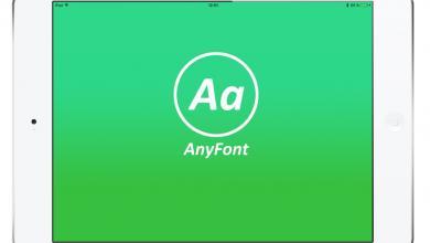Photo of تطبيق AnyFonts للايفون والايباد تنزيل الخطوط