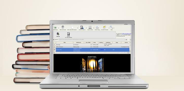 برنامج Calibre Ebook لإدارة وصناعة الكتب الالكترونية