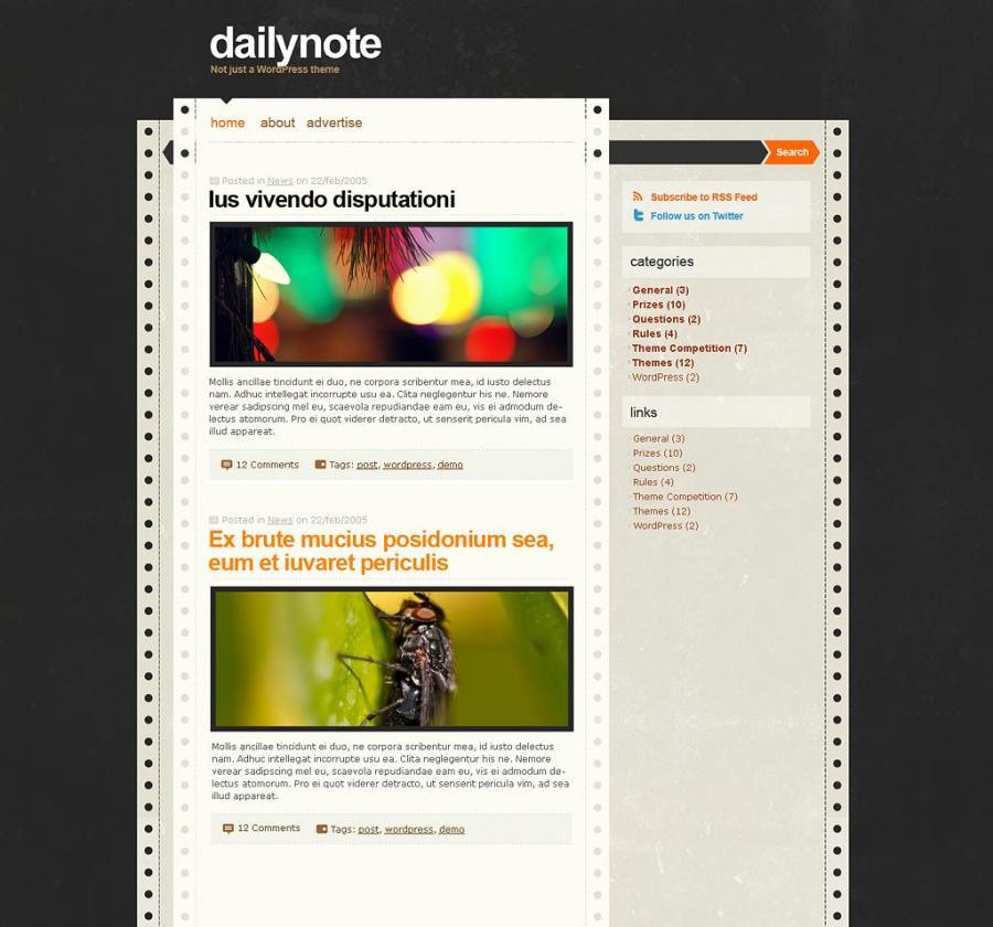 Photo of قالب DailyNotes المعرب