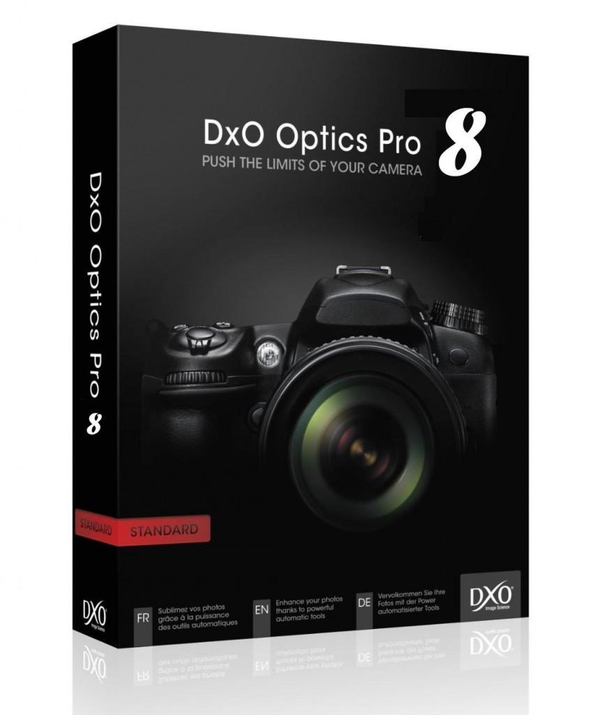 تحميل نسخة مجانية من محرر الصور DxO Optics Pro 8