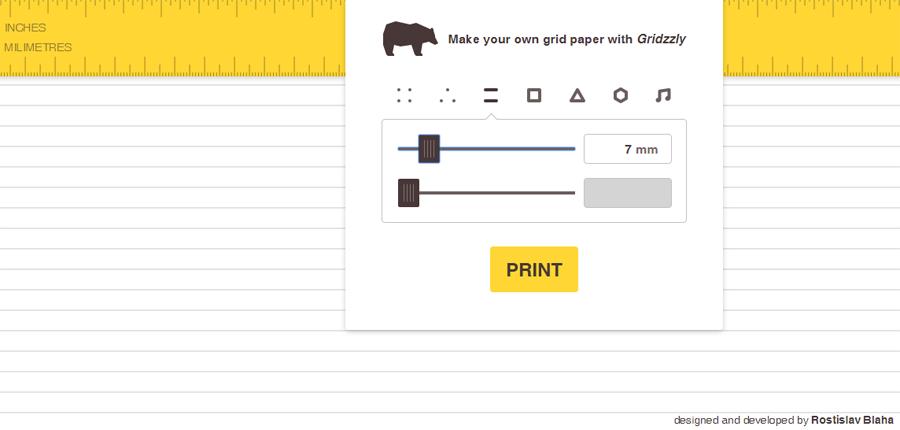 كيفية صناعة ورق مسطر بعدة اشكال حسب رغبتك وطباعته