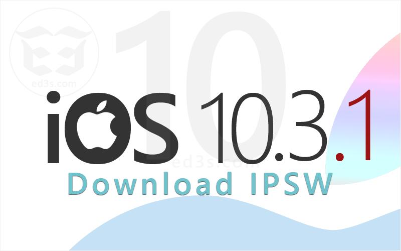 Photo of تحميل iOS 10.3.1 IPSW للايفون والايباد