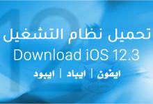 Photo of تحميل نظام iOS 12.3 IPSW للايفون والايباد