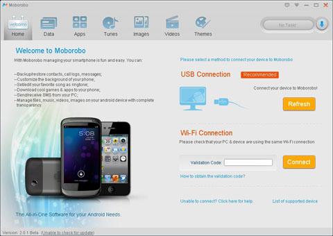 Photo of برنامج Moborobo لادارة هاتفك الاندرويد من ويندوز