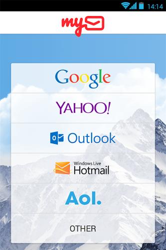 myMail اكثر من بريد الكتروني في برنامج واحد على الاندرويد