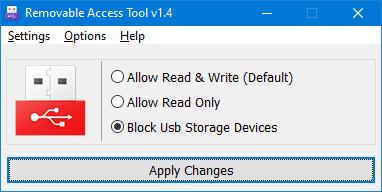 برنامج Ratool ايقاف عمل USB على الكمبيوتر