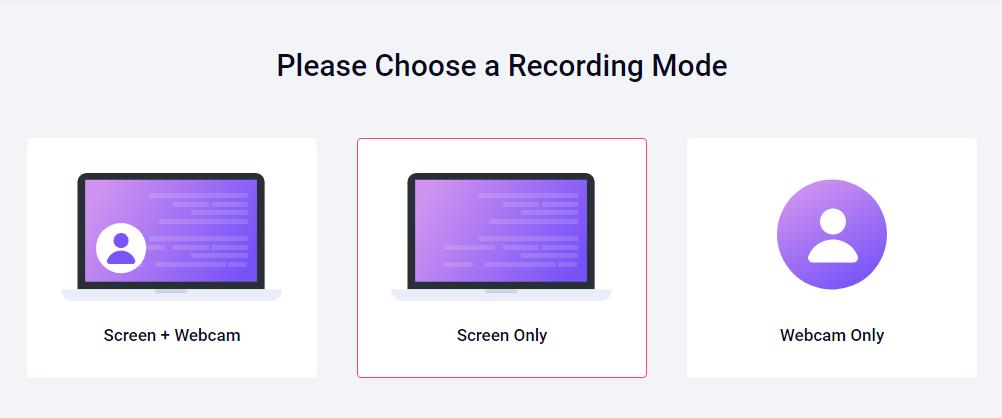 خدمة RecordCast لتصوير شاشة الكمبيوتر وسطح المكتب