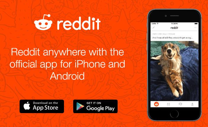 تطبيق Reddit متوفر للاندرويد والايفون