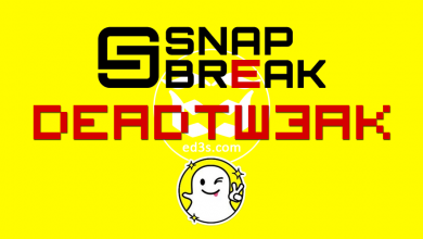 Photo of DeadTweak تحميل وتثبيت سناب بريك SnapBreak مجانا للايفون