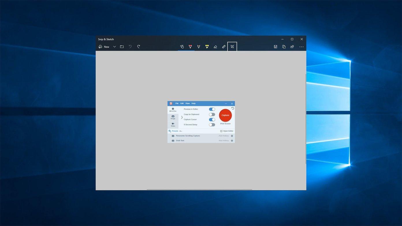 كيفية تصوير الشاشة في ويندوز 10 بشكل سريع والتعديل بواسطة Snip & Sketch