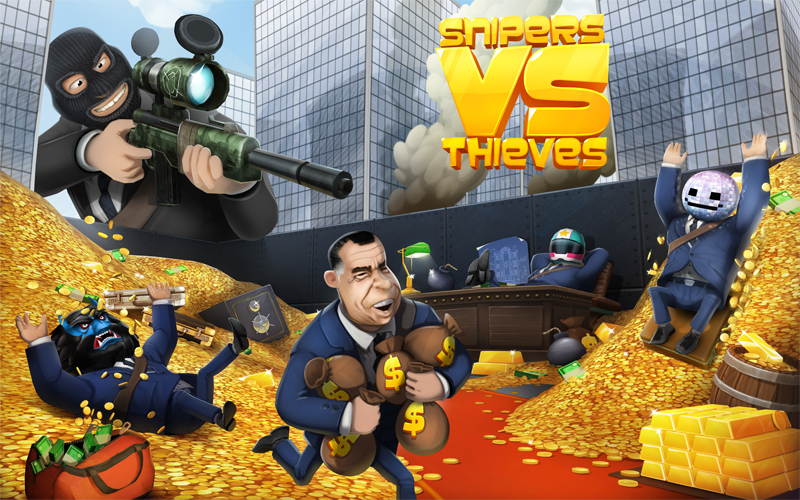 Photo of تثبيت لعبة القناصين واللصوص Snipers vs Thieves للاندرويد والايفون