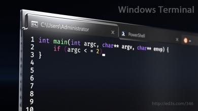 Photo of برنامج ويندوز تيرمنال Windows Terminal على ويندوز 10