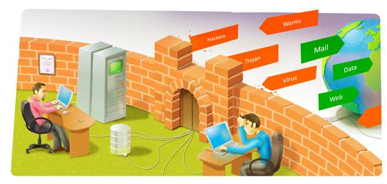 Windows Firewall جدار الحماية في ويندوز 7