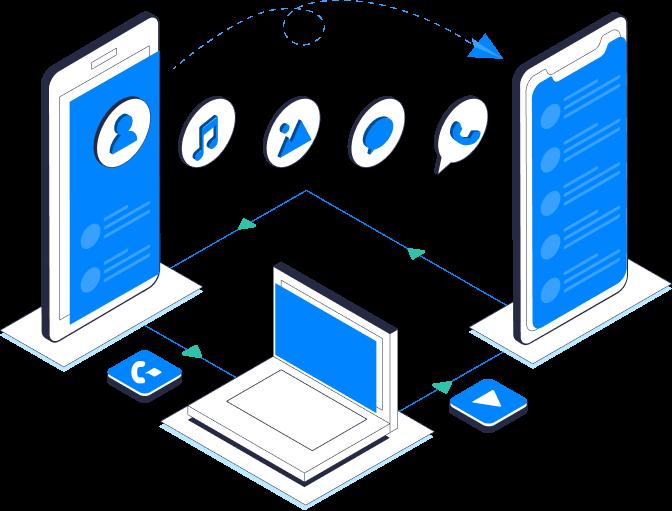 برنامج Wondershare MobileTrans نقل البيانات بين الجوالات النسخ الاحتياطي